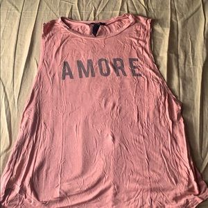 Forever 21 blush rose tank top